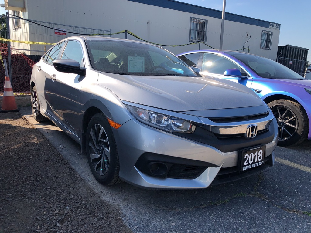 Pre-Owned 2018 Honda Civic SE,AUTO,ONE OWNER,LOW KM
