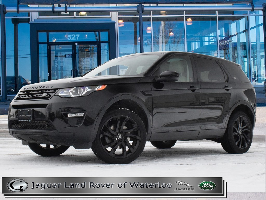 Certified Pre-Owned 2016 Land Rover Discovery Sport HSE LUXURY,BLACK PACK,ACCIDENT FREE