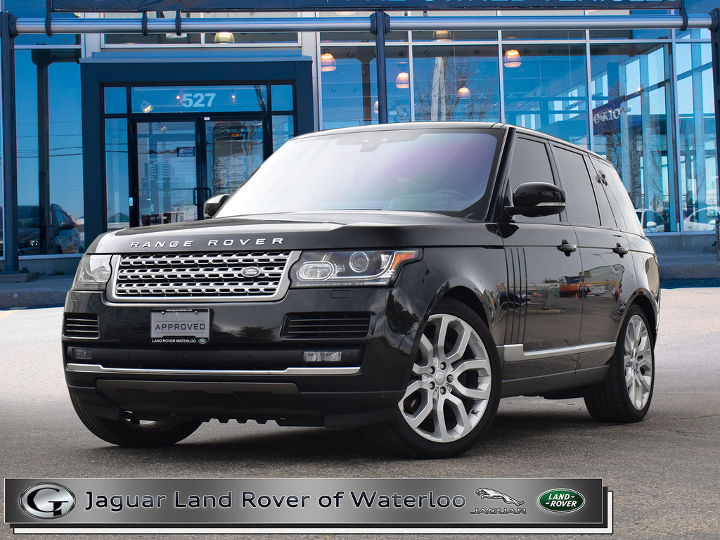 Certified Pre-Owned 2017 Land Rover Range Rover 5.0L V8 SWB,ONE OWNER,6 YR 160K WARRANTY