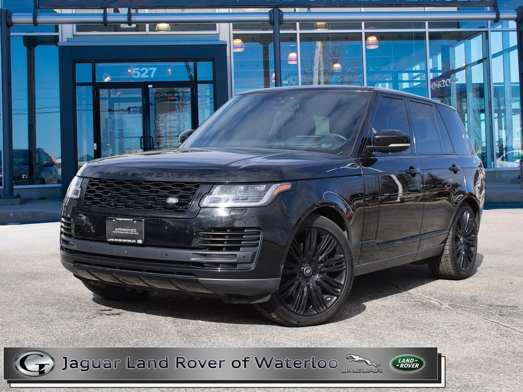 Certified Pre Owned 2018 Land Rover Range Rover 5 0l V8 Supercharged