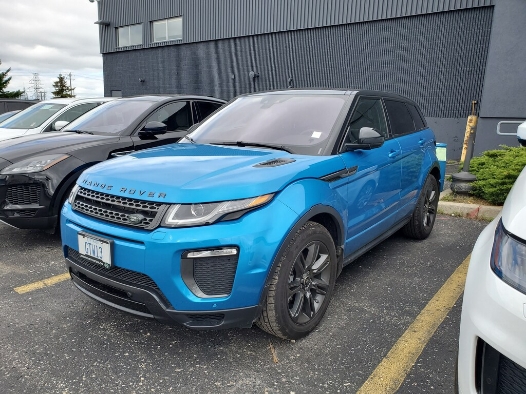 Certified Pre-Owned 2019 Land Rover Range Rover Evoque Landmark Special Edition