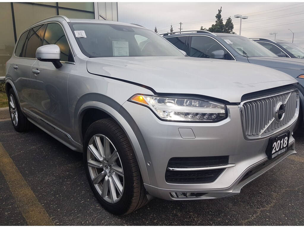 Certified Pre-Owned 2018 Volvo XC90 T6 Inscription 360 Camera Blind Spot Monitoring