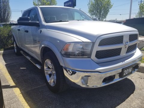 Pre-Owned 2014 Ram 1500 4X4,CREW CAB,OUTDOORSMAN 4x4 Truck