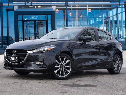 2018 Mazda Mazda3 Sport GT,ONE OWNER,HEADS UP DISPLAY,LEATHER