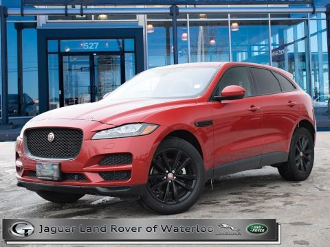 Certified Pre-Owned 2018 Jaguar F-Pace 20D,PRESTIGE,TECH PACK,VISION ASSIST