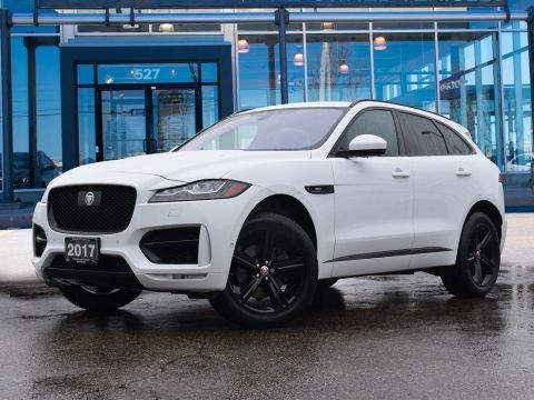 2017 Jaguar F-Pace 35T R-SPORT,ONE OWNER,ACCIDENT FREE