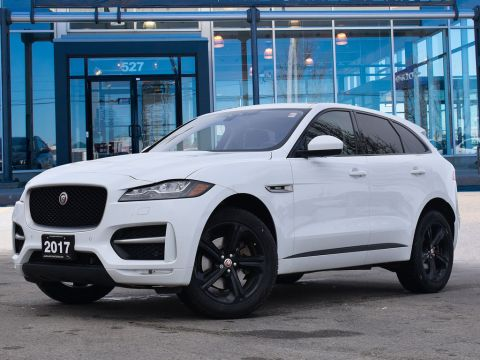 2017 Jaguar F-Pace 35t R-SPORT,ACCIDENT FREE,ALL WHEEL DRIVE