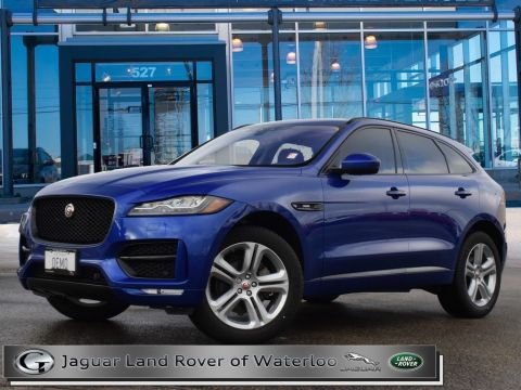 Certified Pre-Owned 2018 Jaguar F-Pace 20d R-SPORT,DIESEL,TECH PACK