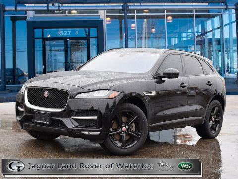 Certified Pre-Owned 2019 Jaguar F-Pace 30t AWD R-Sport With Navigation & AWD