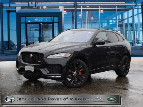 Pre-Owned 2018 Jaguar F-Pace S AWD With Navigation & AWD