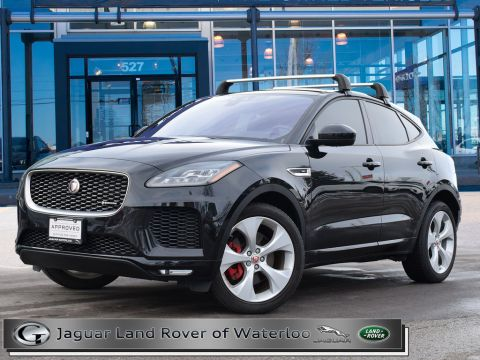 2018 Jaguar E-Pace R DYNAMIC AWD,300HP,SE PACKAGE