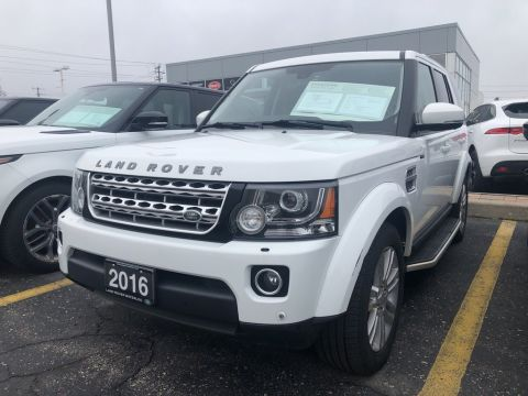 Certified Pre-Owned 2016 Land Rover LR4 HSE LUXURY,6YR 160,000K WARRANTY