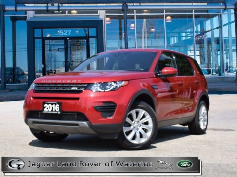 Pre-Owned 2016 Land Rover Discovery Sport SE,ONE OWNER,ACCIDENT FREE