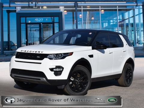 Certified Pre-Owned 2019 Land Rover Discovery Sport HSE With Navigation