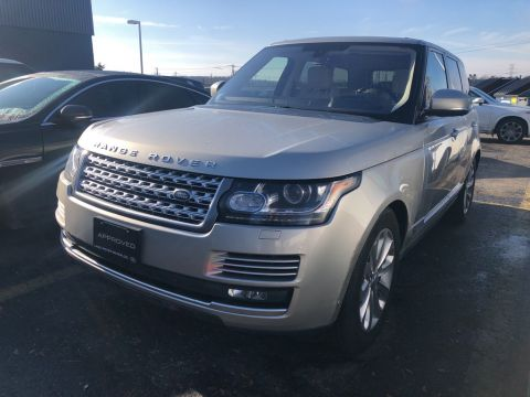 Pre-Owned 2016 Land Rover Range Rover 4WD 4dr Td6 HSE With Navigation