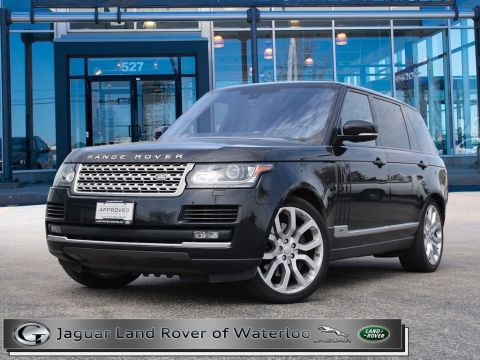 Certified Pre-Owned 2016 Land Rover Range Rover 5.0 V8,LWB,6 YR/160K WARRANTY
