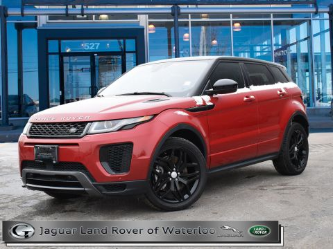 Certified Pre-Owned 2018 Land Rover Range Rover Evoque HSE DYNAMIC,HEADS UP DISPLAY