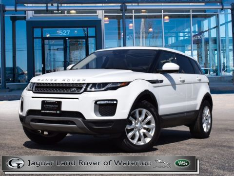 Certified Pre-Owned 2017 Land Rover Range Rover Evoque SE,ACCIDENT FREE,6 YR OR 160,000K WARRANTY