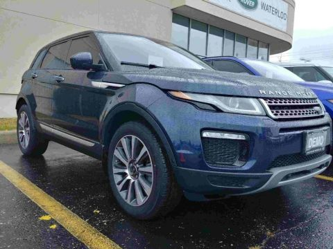 Certified Pre-Owned 2018 Land Rover Range Rover Evoque HSE DEMO,BLIND SPOT,LANE KEEP ASSIST