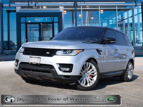 Pre-Owned 2016 Land Rover Range Rover Sport V8 SUPERCHARGED DYNAMIC,ADAPTIVE CRUISE
