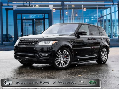 Pre-Owned 2016 Land Rover Range Rover Sport 4WD 4dr V8 SC Dynamic With Navigation