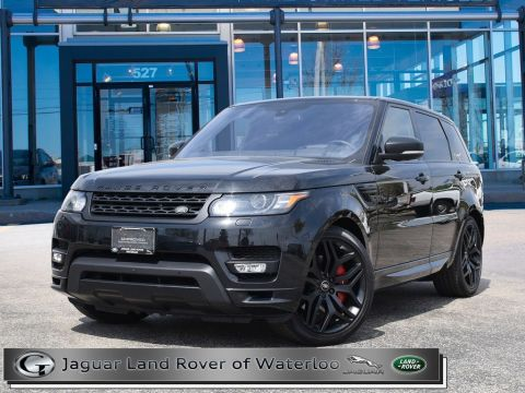 Certified Pre-Owned 2016 Land Rover Range Rover Sport AUTOBIOGRAPHY DYNAMIC,5YR 160,000K WARRANTY