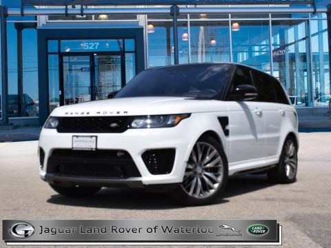 Certified Pre-Owned 2016 Land Rover Range Rover Sport SVR,5YR or 160,000K warranty