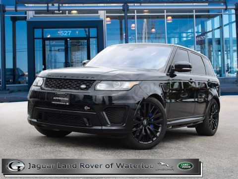 Certified Pre-Owned 2017 Land Rover Range Rover Sport SVR,ONE OWNER,5YR 160K WARRANTY
