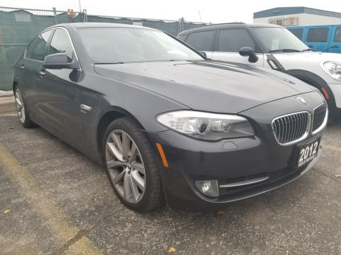 2012 BMW 5 Series 535i xDrive AWD,LOW KMS,ACCIDENT FREE