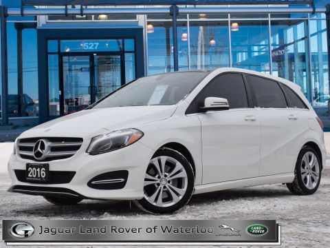 Pre-Owned 2016 Mercedes-Benz B-Class B250 4MATIC,ACCIDENT FREE