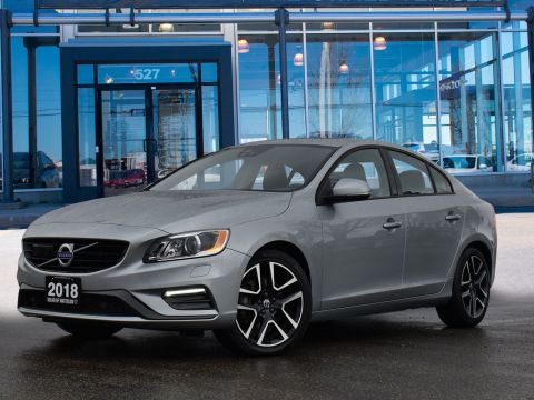 2018 Volvo S60 T6 DYNAMIC,AWD,ADAPTIVE CRUISE