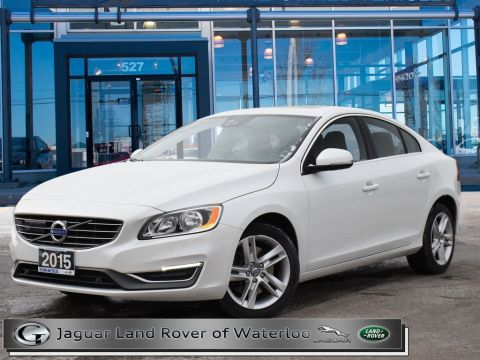 Certified Pre-Owned 2015 Volvo S60 T5,PREMIER PLUS,ACCIDENT FREE
