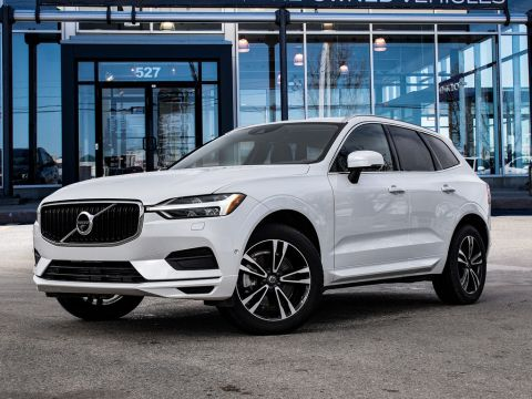Pre-Owned 2019 Volvo XC60 MOMENTUM T6,6 YR 160,000K WARRANTY With Navigation & AWD